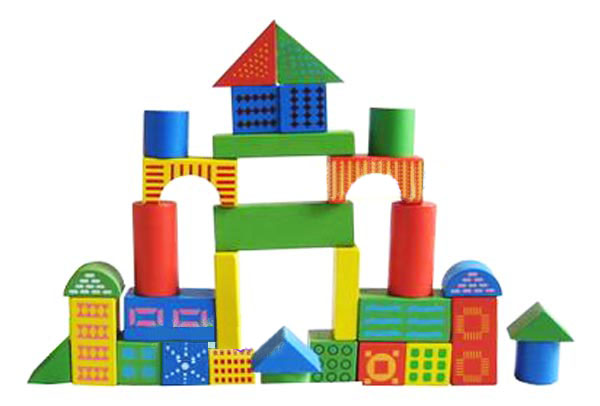 积木是最佳的儿童早教玩具