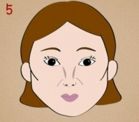漫画脸素材图片女
