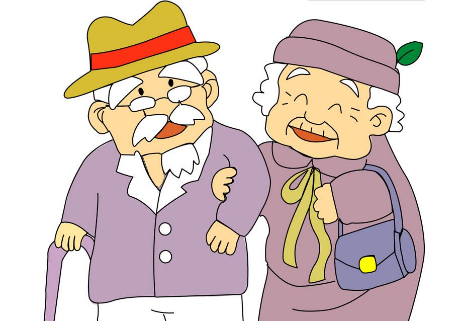 中老年人走路不稳亦或耳朵有问题