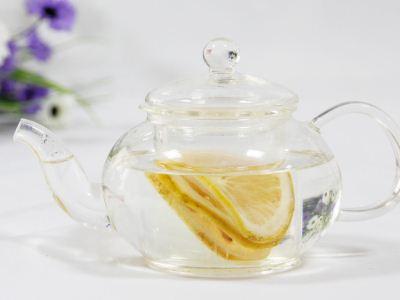 柠檬片泡水图片_