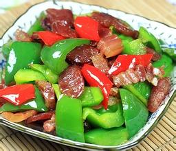 青椒炒腊肉