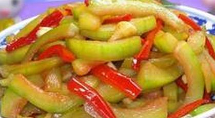 9种清爽可口的凉拌西瓜皮做法