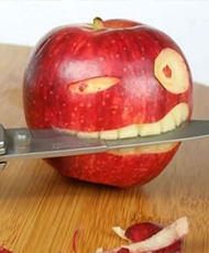 创意食品:你还忍心吃吗?