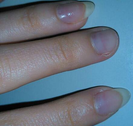 指甲折纸步骤图解法