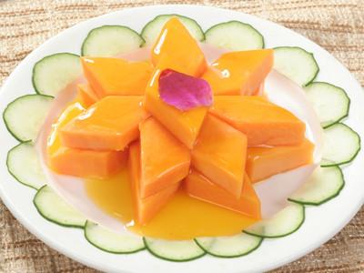 木瓜所含酵素近似人体生长激素