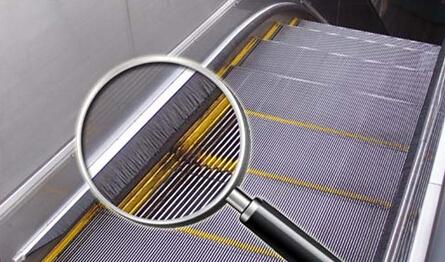 扶梯安全矢量图