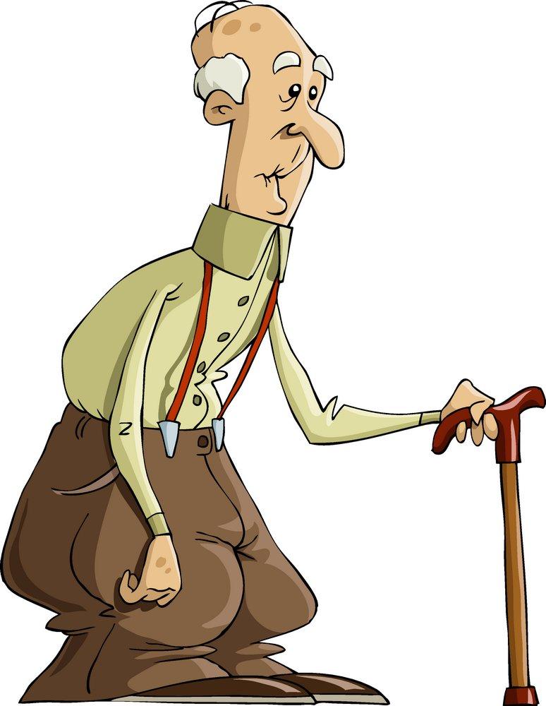 老人动画图片素材