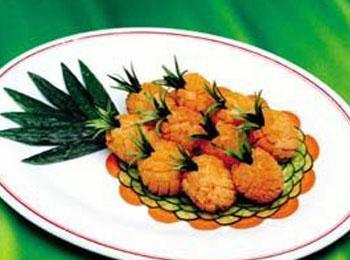 佛教折纸菠萝步骤图解