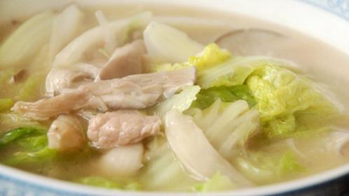 瘦肉白菜汤